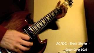AC/DC - Brain Shake / Angus Cover!!