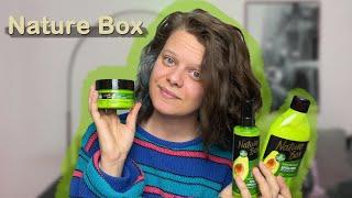 Ich teste die neuen NATURE BOX Produkte - curly girl safe - CURLY GIRL METHODE