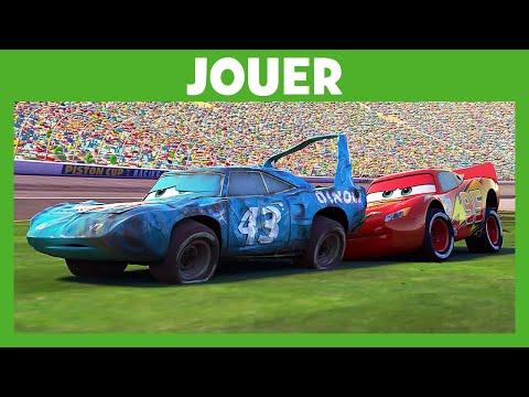 Pub Disney Junior Cars – Du film à la réalité : Flash McQueen aide Le King pub 2021  Mai 2021
