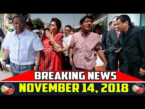 BREAKING NEWS NOVEMBER 14 2018 | DUTERTE | CAYETANO | BINAY | IMELDA MARCOS | KIKO | MARTIAL LAW