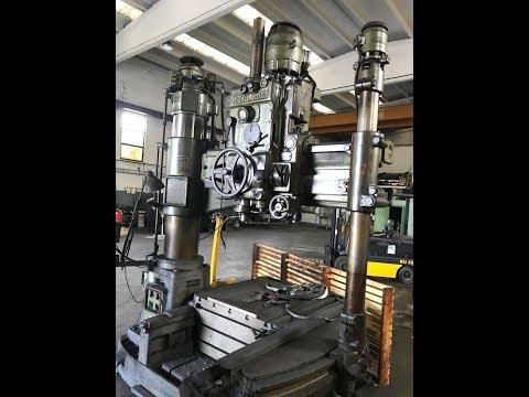 Oerlikon Jig Boring Machine