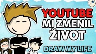 Youtube mi zmenil život | Animovaný Draw My Life