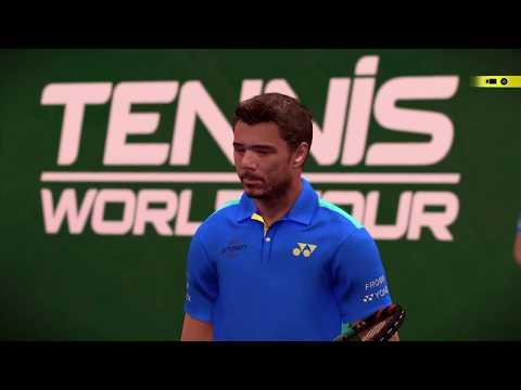 Gameplay de Tennis World Tour Legends Edition