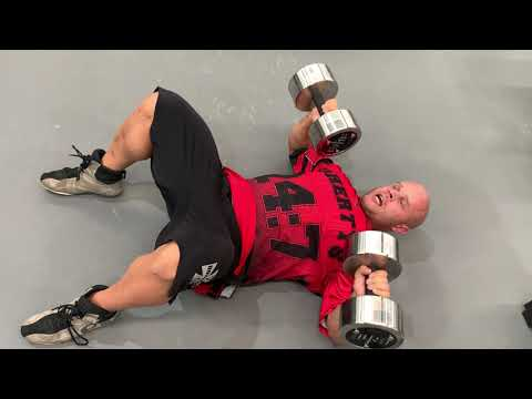 How to perform Dumbbell Floor Press
