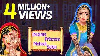 Indian Princess Mehndi Hand & Foot Spa Salon - Mehndi, Manicure Gameplay Video By GameiMake