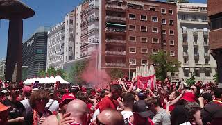 We've been to PSG and Napoli, Belgrade and Germany! Liverpool fans / Beautiful South Rotterdam song