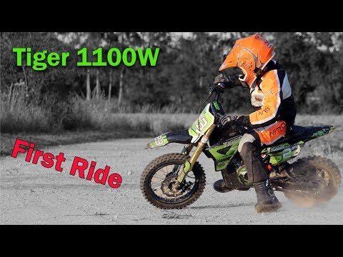 TIGER 1100W Cross Bike - First Ride