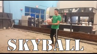 How to Skyball Serve in Beach Volleyball