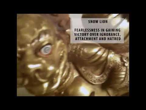 Dorje Shugden's Iconography