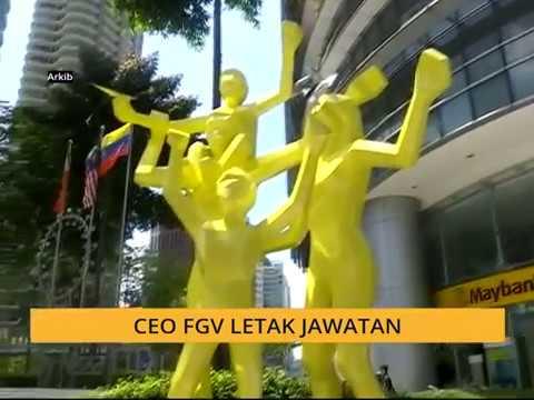 CEO FGV letak jawatan