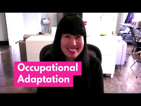 Occupational Adaptation