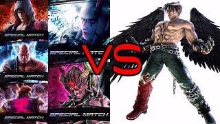 Tekken 7 - Asura Jin Arcade Mode Gameplay - hmong video