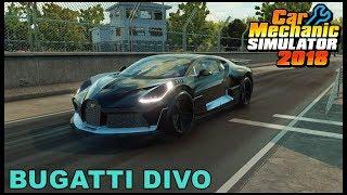 FULLY BUILT BUGATTI DIVO - Car Mechanic Simulator 2018