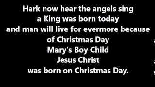 Mary's Boy Child Christmas Whole School Song karaoke track