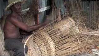preview picture of video 'Basketwork, La Florida, Higuey, Dominican Republic'