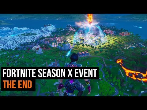 fortnite season x event the end
