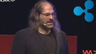 David Schwartz Speaking About Blockchain and Digital Asset's at the WeAreDevelopers. Ripple XRP