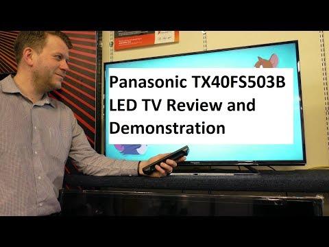 Panasonic TX40FS503B LED TV Demonstration