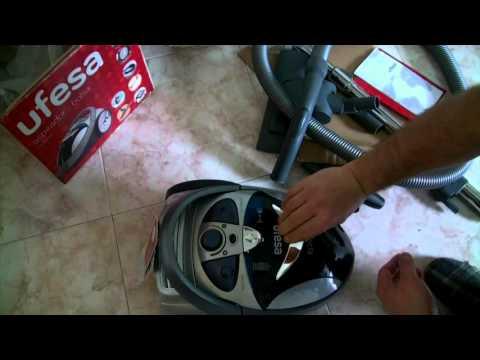 Aspiradora sin bolsa UFESA AS3016E [unboxing montaje y prueba]