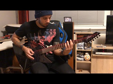 Five Finger Death Punch - Inside Out GUITAR COVER