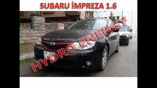 Subaru İmpreza 1.5 hidrojen yakıt sistem montajı