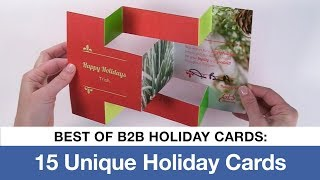 Best Of Unique Holiday Cards - 15 Unique B2B Holiday Card Ideas