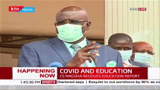 Will schools re-open soon? CS Magoha address on situation of Education in Kenya amid pandemic | Full