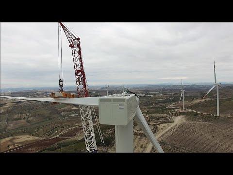 Realizzazione Parco Eolico Costa del Pidocchio - Butera (CL) 16MW