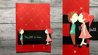 Beautiful Handmade Slider Card | Handmade Greeting Card