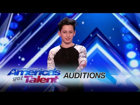 LEAK: Henry Richardson Bewilders The Judges With Clever Card Trick - America's Got Talent 2017