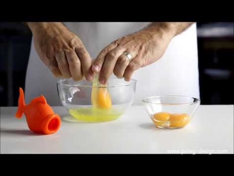 Product application video for the Yolkfisch of Peleg Design