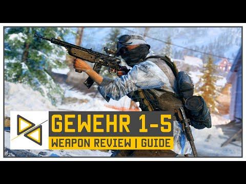 BF5] Gewehr 1-5 - The BEST Close Quarter Semi-Auto in Battlefield V