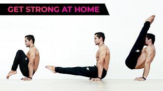 Full Body Calisthenics Home Workout | NO EQUIPMENT! (All Levels)