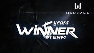 Warface - 5 лет клану Виннер