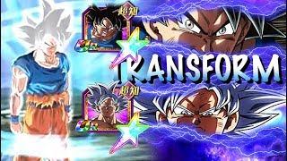 NEW MASTERED TRANSFORMATION! 100% MASTERED ULTRA INSTINCT GOKU SHOWCASE!! DBZ: Dokkan Battle
