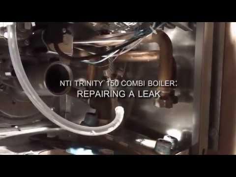 NTI Trinity 150 Combi Boiler - Repairing A Leak