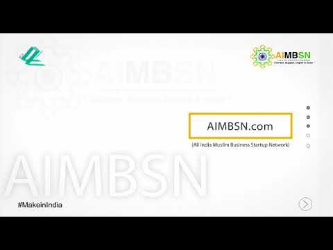 AIMBSN.com India's only ecosystem to connect Indian Muslim Entrepreneurs