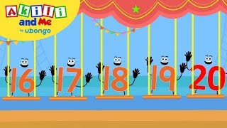 Count Big Numbers: 16   20 | Learn To Count With Akili | African Preschool Educational Songs