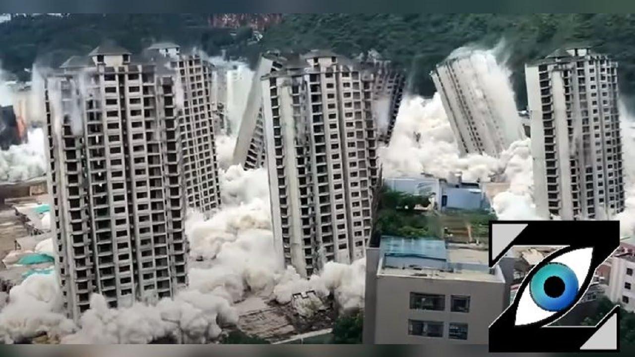 [Zap Net] Gigantesque destruction de 15 tours en simultané (15/09/21)