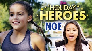 Justice Holiday Heroes Ep 3 - Noe Runs 💗 Ft. Jessalyn Grace