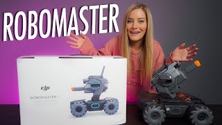 This Robot is SO fun! New DJI Robomaster S1