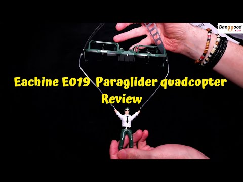 Eachine E019 Paraglider Quadcopter Full Review