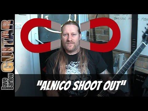 Alnico 2,3,4 and 5 Humbucker Shootout