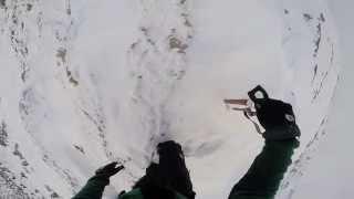 preview picture of video 'Karaman Hacıbaba Dağı(2481m) Kış Direk Geçişi'