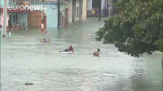 Irma kasırgası yıkıcı güç