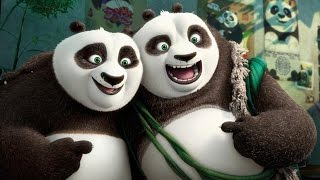 Kung Fu Panda 3: ALL Movie Clips (1-3) - Dreamworks 2016 Animation