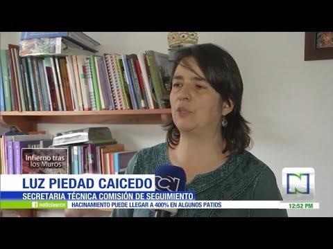 Grave situaci�n de hacinamiento en c�rceles de Colombia