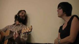 Chris Velan & Laura Tsaggaris - Oldest Trick rehearsal @ Canal Room