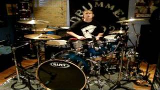 Down With Webster Grind [Drum Cover]