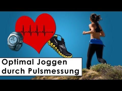 Joggen nach Puls - Richtig Joggen - Wichtige Grundregeln